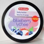 Kruidvat Body Butter Blueberry & Lychee