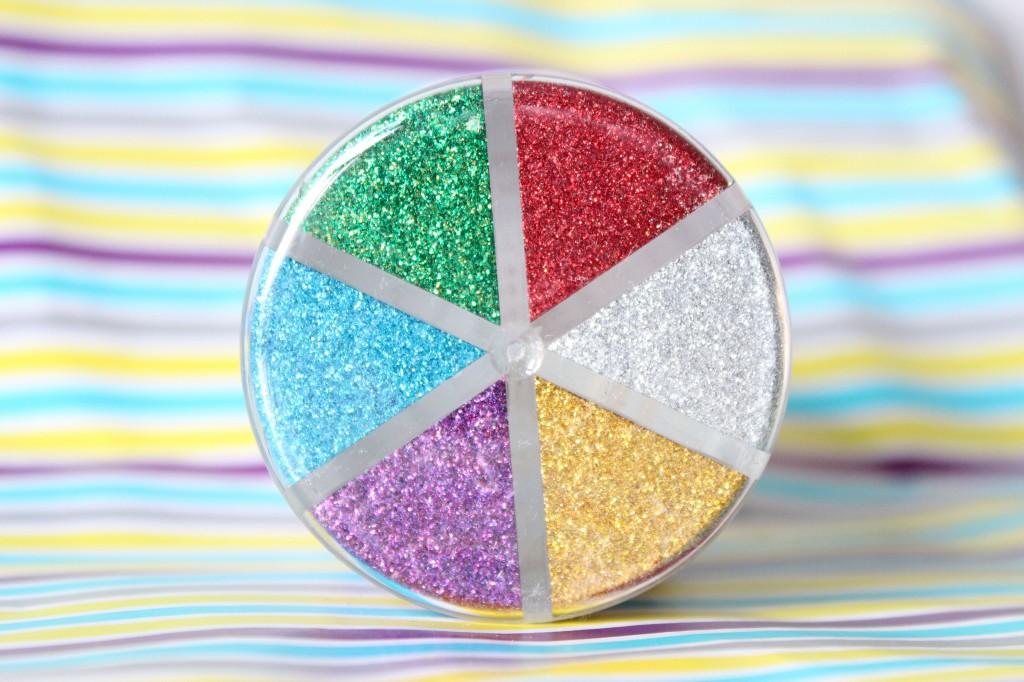 Action Glitter Multi Colour