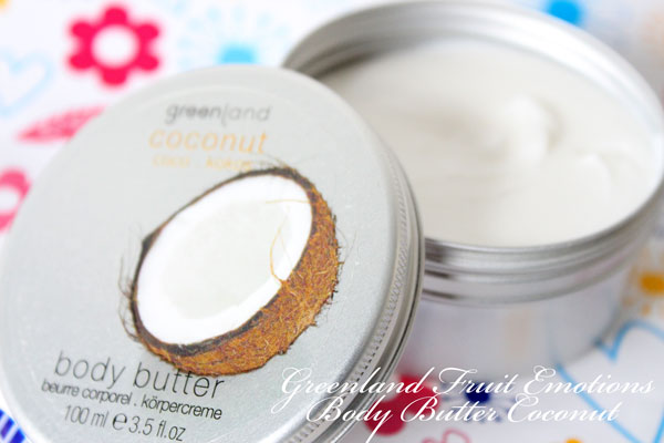 Greenland Fruit Emotions Body Butter Coconut
