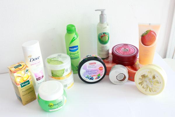 Stash lichaamsverzorgingsproducten