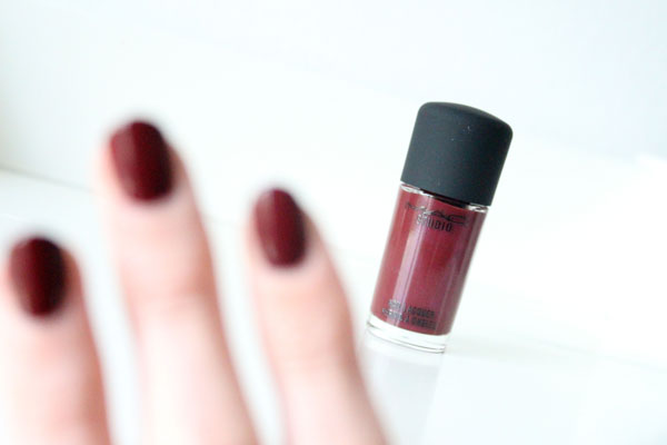 MAC Sunset Sky Nailpolish