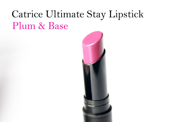 Catrice Ultimate Stay Lipstick Plum & Base
