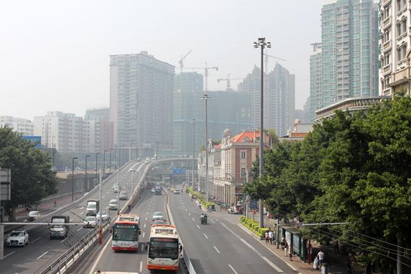 China Guangzhou Shamian Island