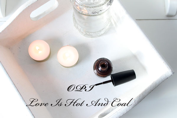OPI Love Is Hot And Coal Review Swatches