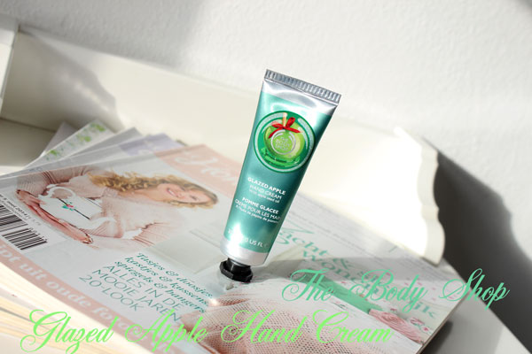 The Body Shop Glazed Apple Hand Cream
