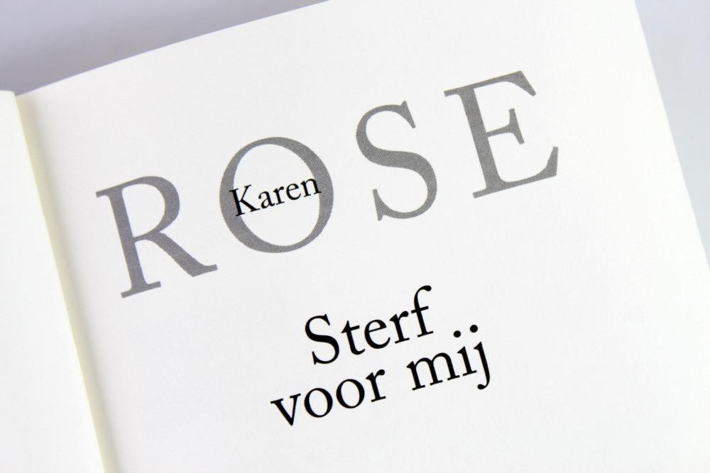 Sterf voor mij van Karen Rose