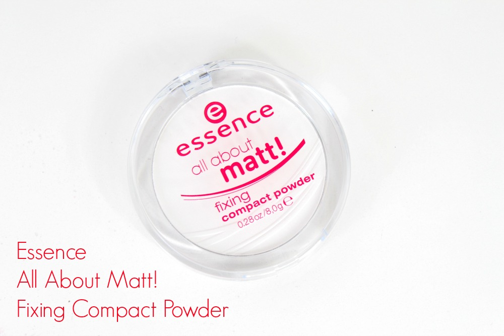 Essence All About Matt! Fixing Compact Powder Review