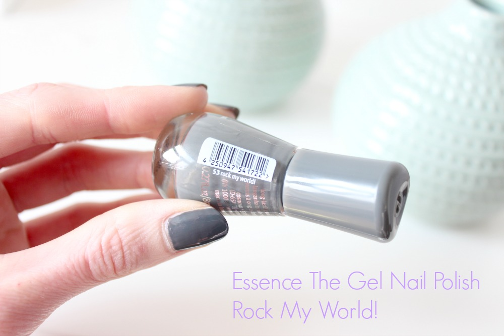 Essence The Gel Nail Polish Rock My World! Review