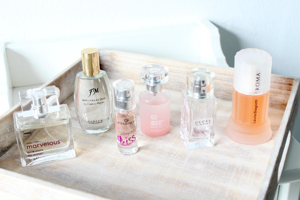 Mijn parfumstash