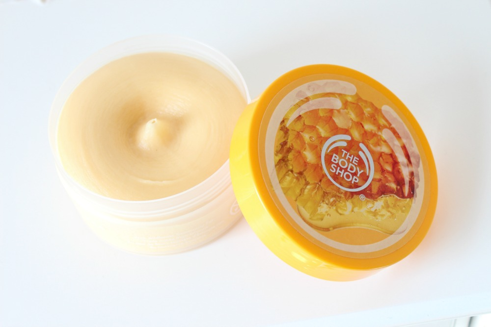 The Body Shop Honeymania Cream Body Scrub Review