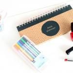 Hema Deskplanner & Fineliners