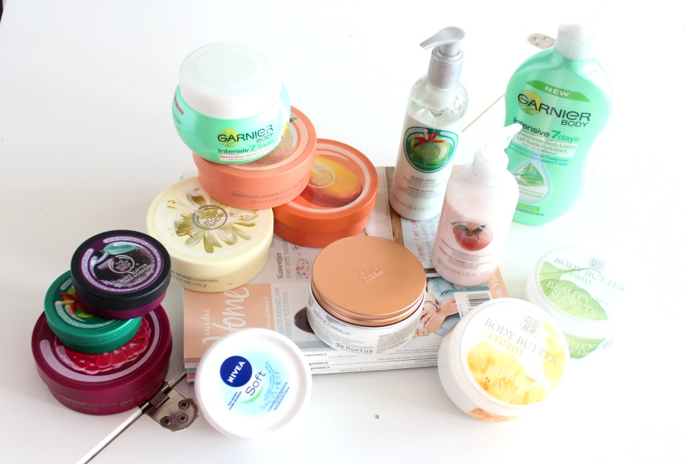 Mijn geopende stash body butters