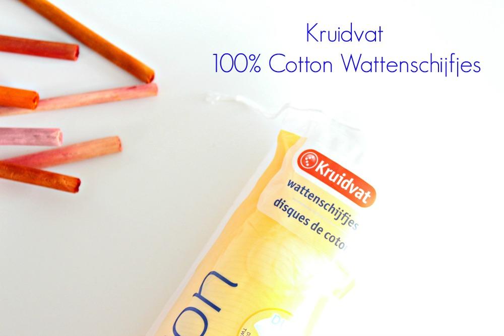 Kruidvat 100% Cotton Wattenschijfjes Review