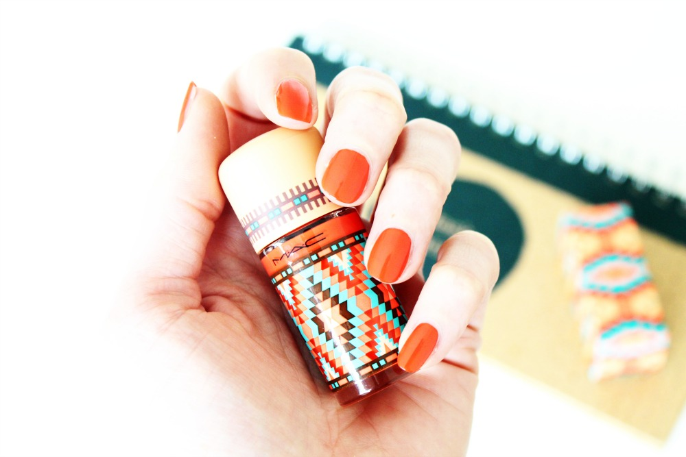 MAC Vibe Tribe Nail Lacquer Blazing Hot