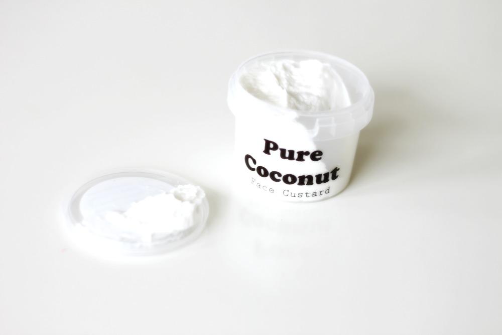 Webshop Wat maakt je mooi Face Custard Pure Coconut