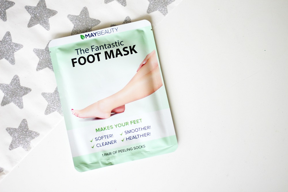 MayBeauty The Fantastic Foot Mask Review Webshop