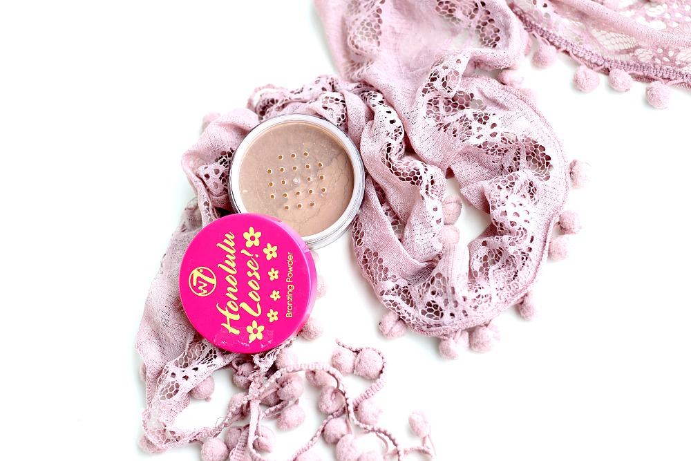 Webshop Voordeeldrogisterij W7 Bronzing Powder Honolulu Loose Review Beautyjuf