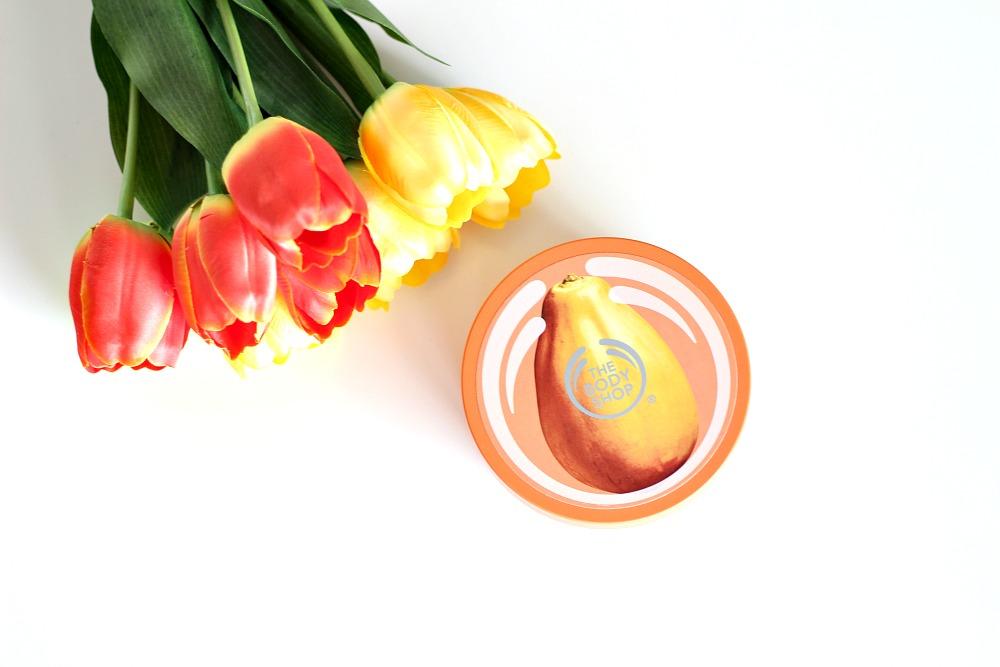 Opgemaakt februari 2017 The Body Shop Body Butter Papaya