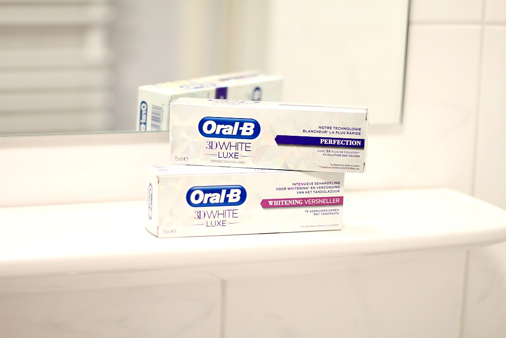 Oral-B 3D White Luxe 2-Stappenplan Review