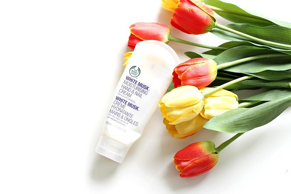 Opgemaakt april 2017 Beautyjuf The Body Shop White Musk
