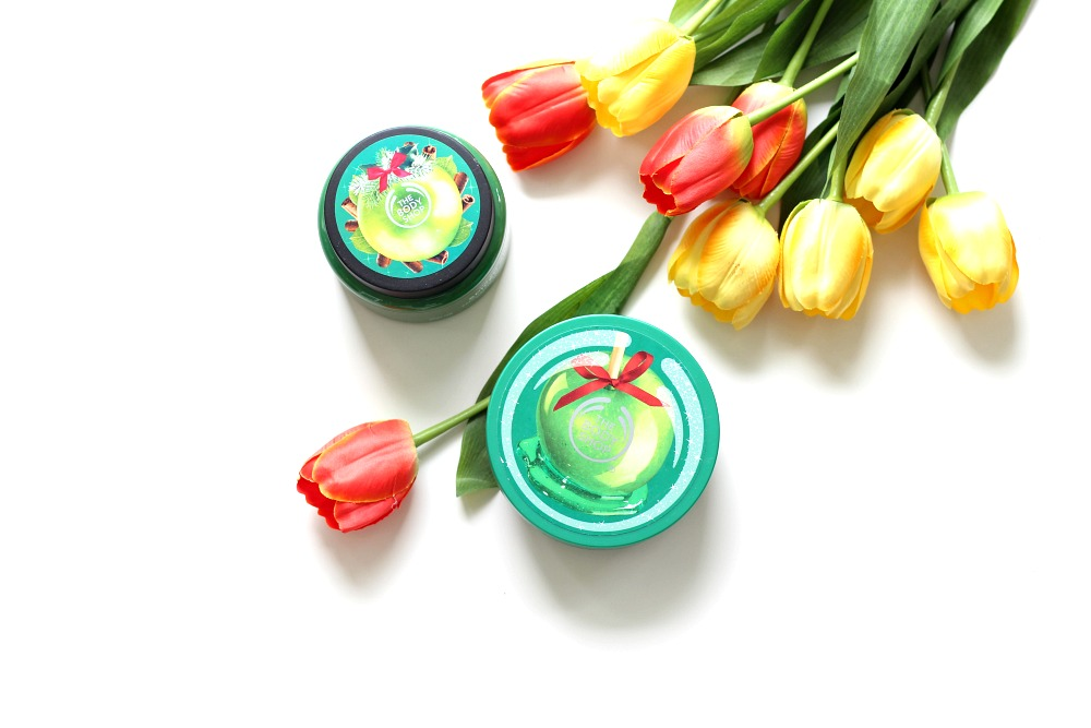 The Body Shop Glazed Apple Sugar Scrub & Body Butter