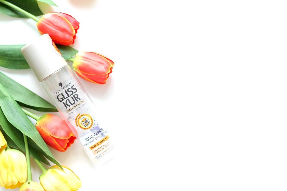 Opgemaakt juni 2017 Gliss Kur Anti-Klit Spray Beautyjuf