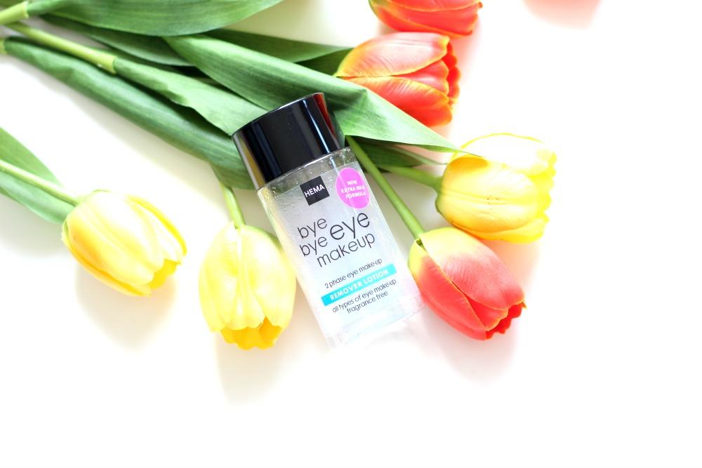 Opgemaakt juni 2017 Hema 2 Phase Eye Make-Up Remover Beautyjuf