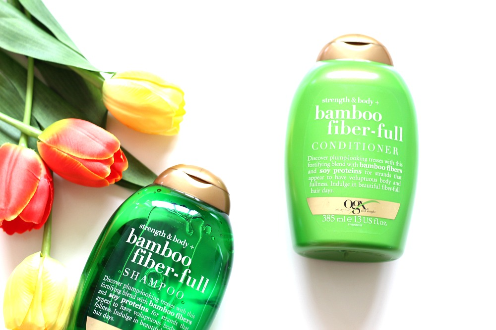OGX Bamboo Fiber-Full Shampoo & Conditioner Review