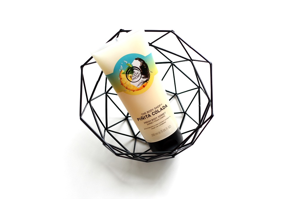 The Body Shop Piñita Colada Fresh Body Sorbet Review Beautyjuf