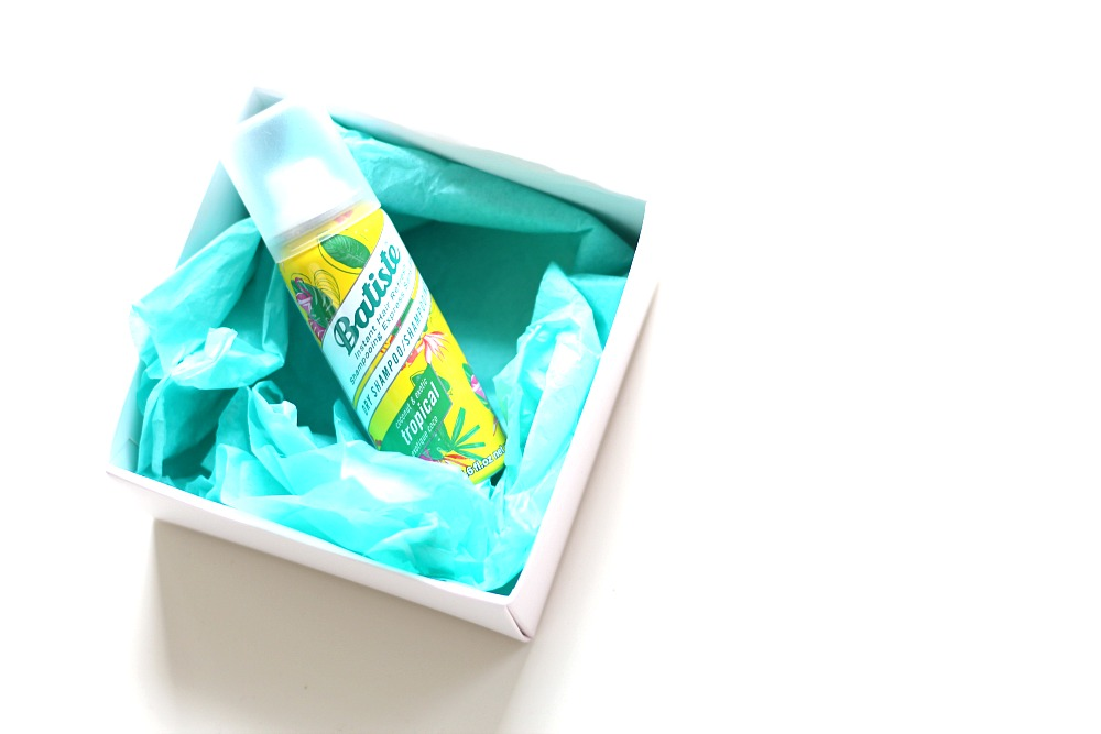 Batiste Mini Droogshampoo Tropical & Blush Review