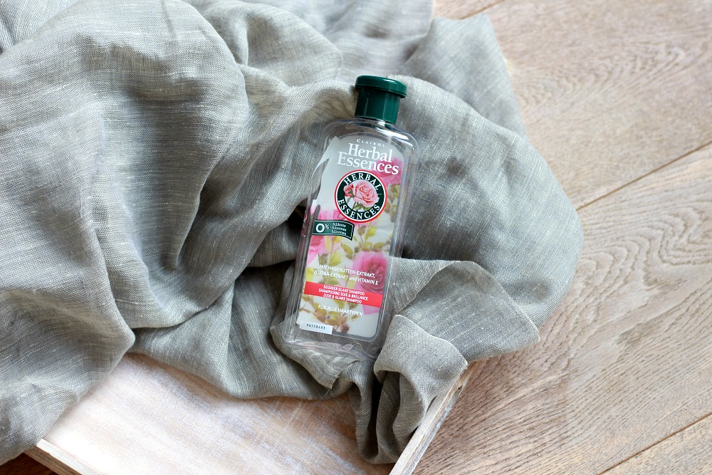 Opgemaakt oktober 2017 Herbal Essences Shampoo
