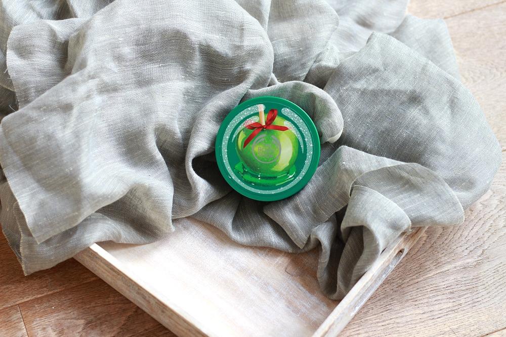 Opgemaakt oktober 2017 The Body Shop Body Butter Glazed Apple