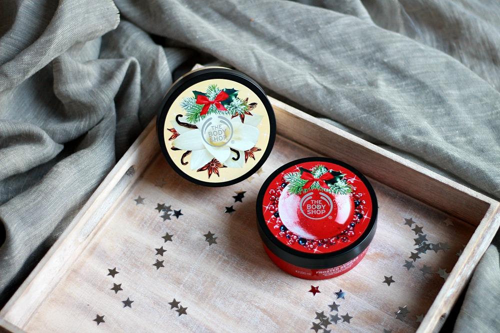 The Body Shop Body Butter Frosted Berries & Vanilla Chai Limited Edition Review