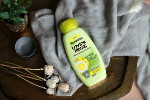 Opgemaakt december 2017 Garnier Loving Blends Verfrissende Shampoo Review Beautyjuf