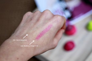 The Body Shop Lip Juicer Acai, Blueberry & Dragon Fruit Swatches Review
