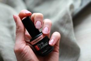 Pink Gellac Gel Blush Orange Review