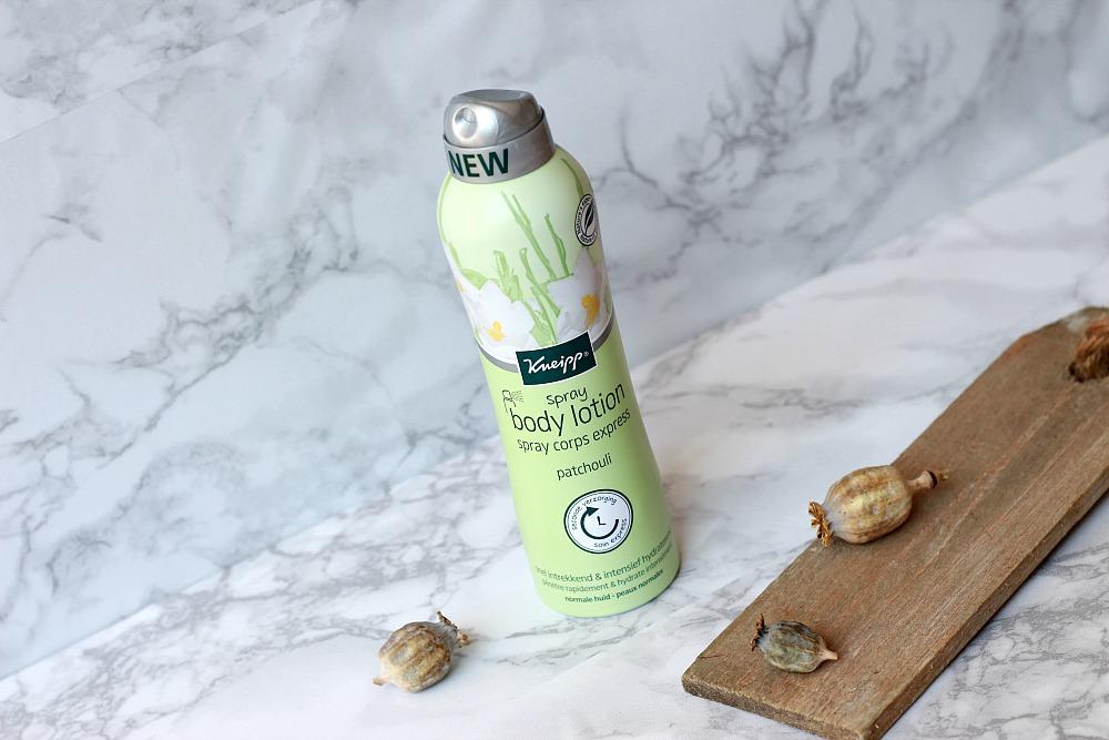 Kneipp Spray Body Lotion Patchouli Review