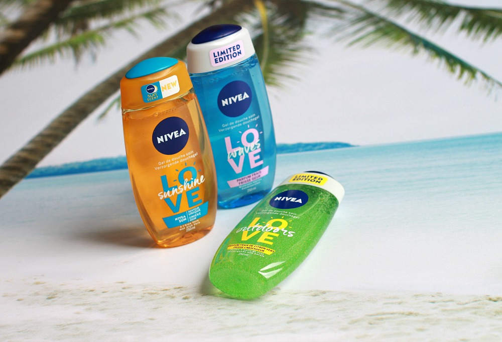 Nivea Summer Douchegel Love Sunshine, Love Waves & Love Outdoors Review