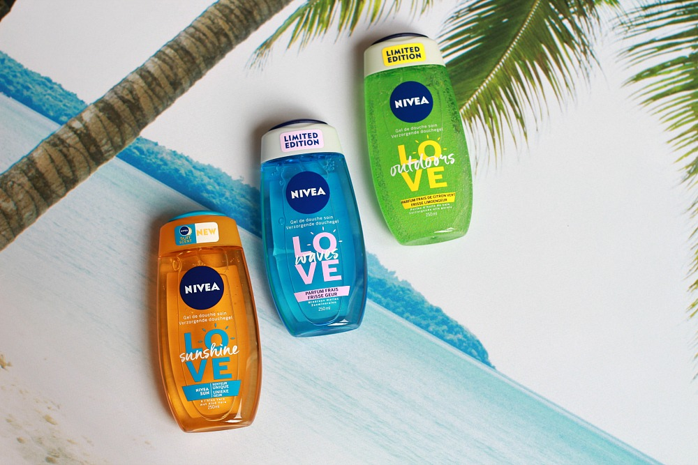 Nivea Summer Douchegel Love Sunshine, Love Waves & Love OutdoorsReview