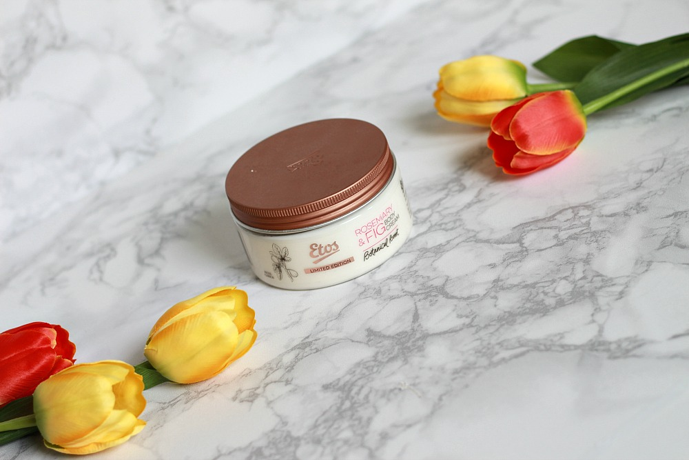 Mijn geopende stash body butters #4 Etos Botanical Boost Rosemary & Fig Body Soufflé