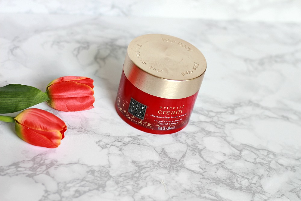 Mijn geopende stash body butters #4 Rituals Oriëntal Cream Shimmering Body Cream