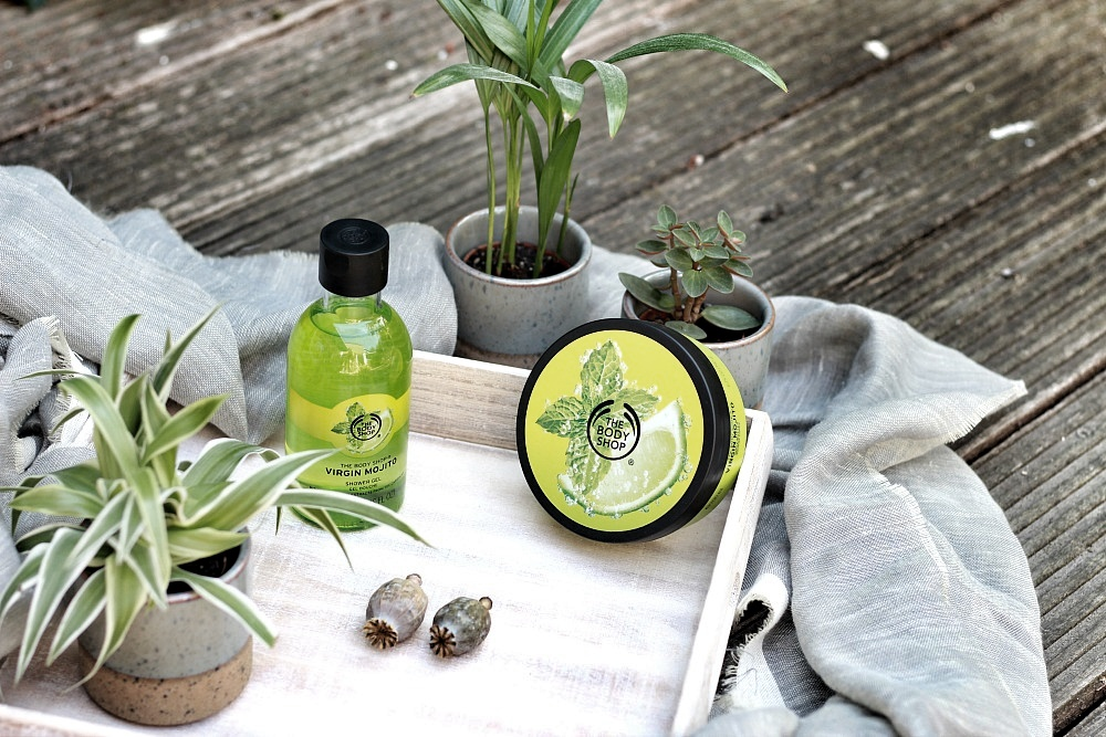 The Body Shop Shoplog Body Butter Virgin Mojito en Shower Gel Virgin Mojito