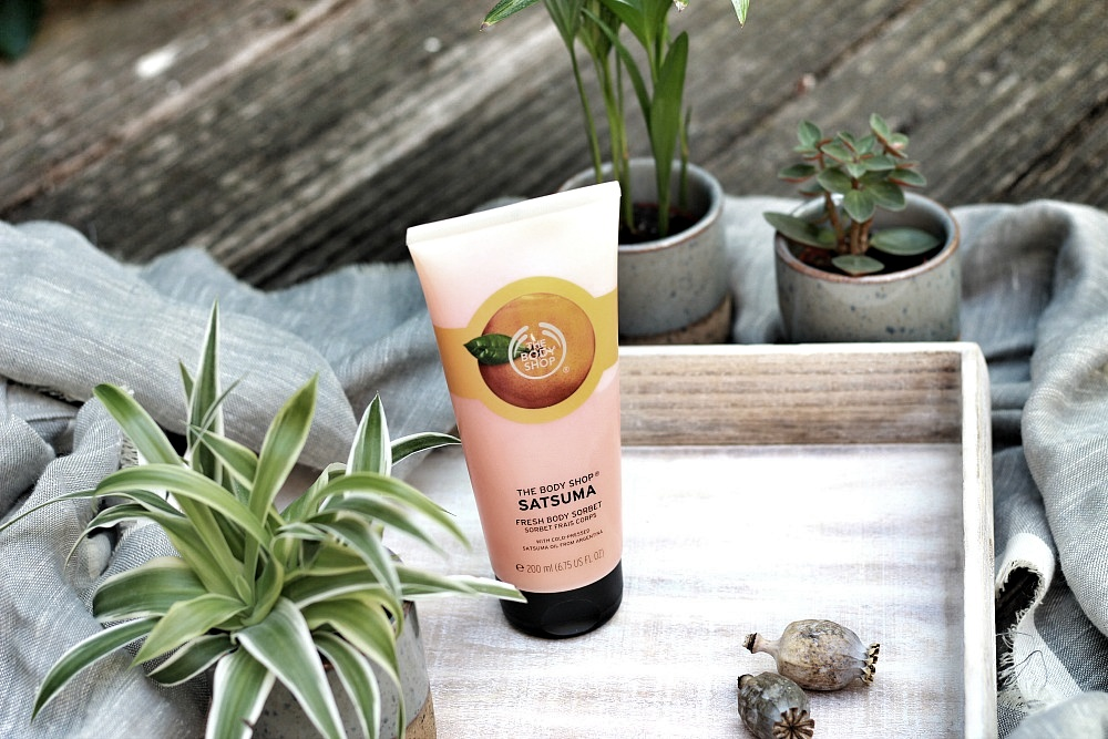 The Body Shop Shoplog Fresh Body Sorbet Satsuma