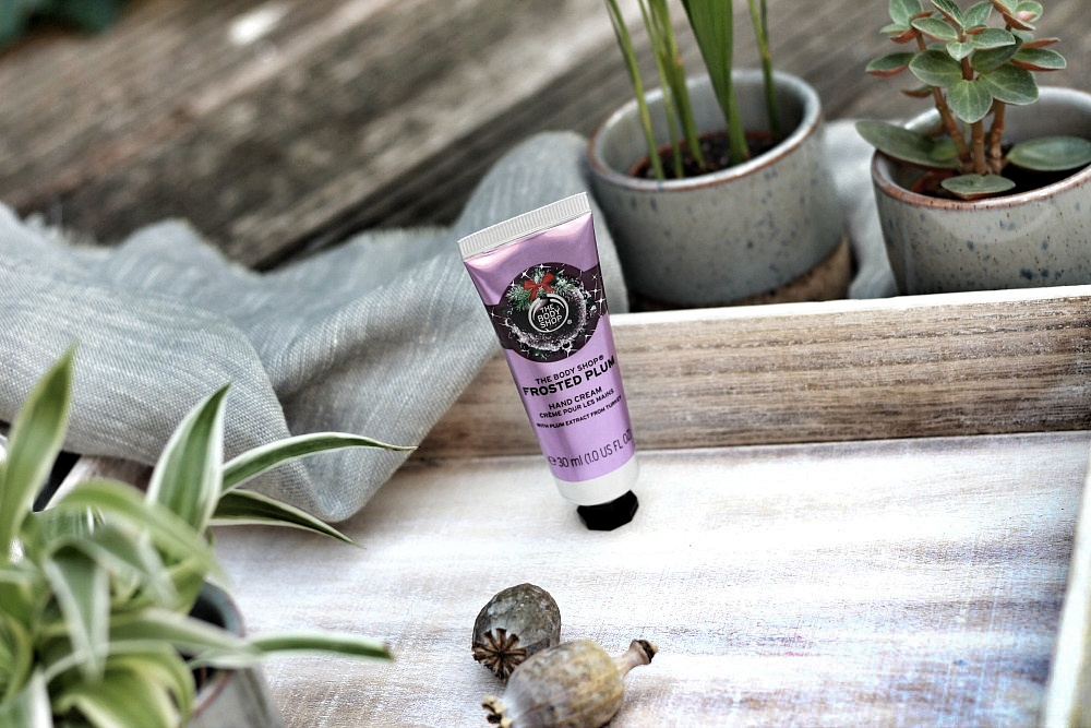 The Body Shop Shoplog Hand Cream Frosted Plum