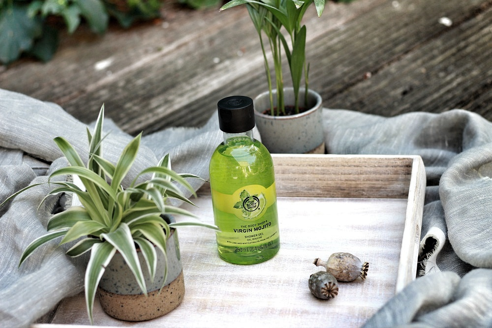 The Body Shop Shoplog Shower Gel Virgin Mojito