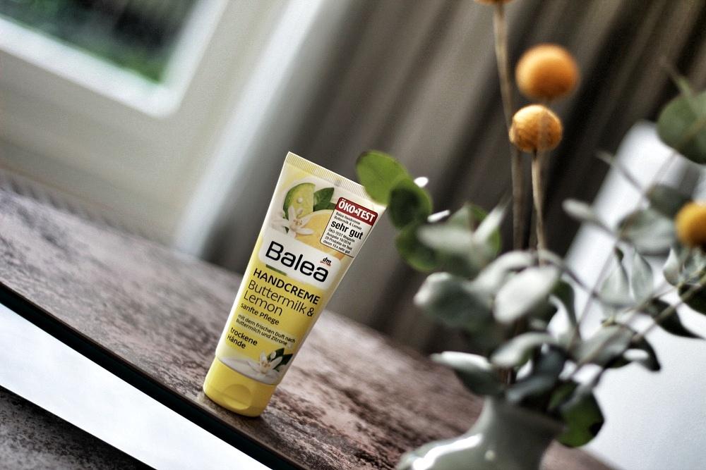 Balea Handcreme Buttermilk & Lemon Review