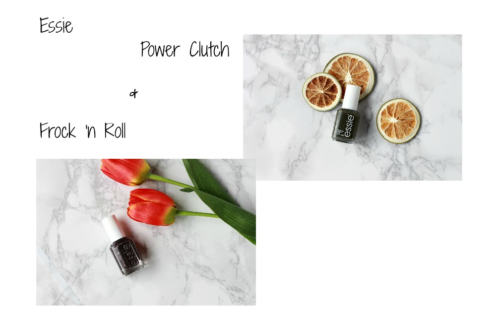 Essie Frock 'n Roll & Power Clutch